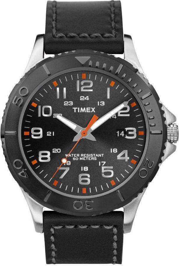 Zegarek Timex Męski TWG876990 Sport Indiglo Data czarny 1