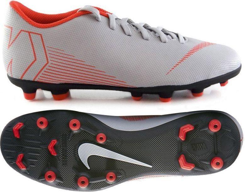 pretty nice d8813 27a7e Nike Buty piłkarskie Mercurial Vapor XII Club MG szare r. 40 (AH7378 060) w  Sklep-presto.pl