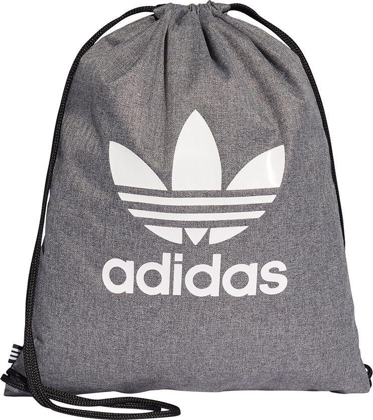 da8140a7e6789 Adidas Plecak Worek adidas Originals Gymsack Trefoil D98929 D98929 szary w  Morele.net