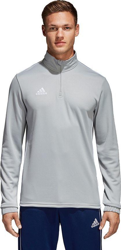 Adidas Bluza piłkarska Core 18 TR Top szara r. XL (CV4000) ID produktu: 4898002