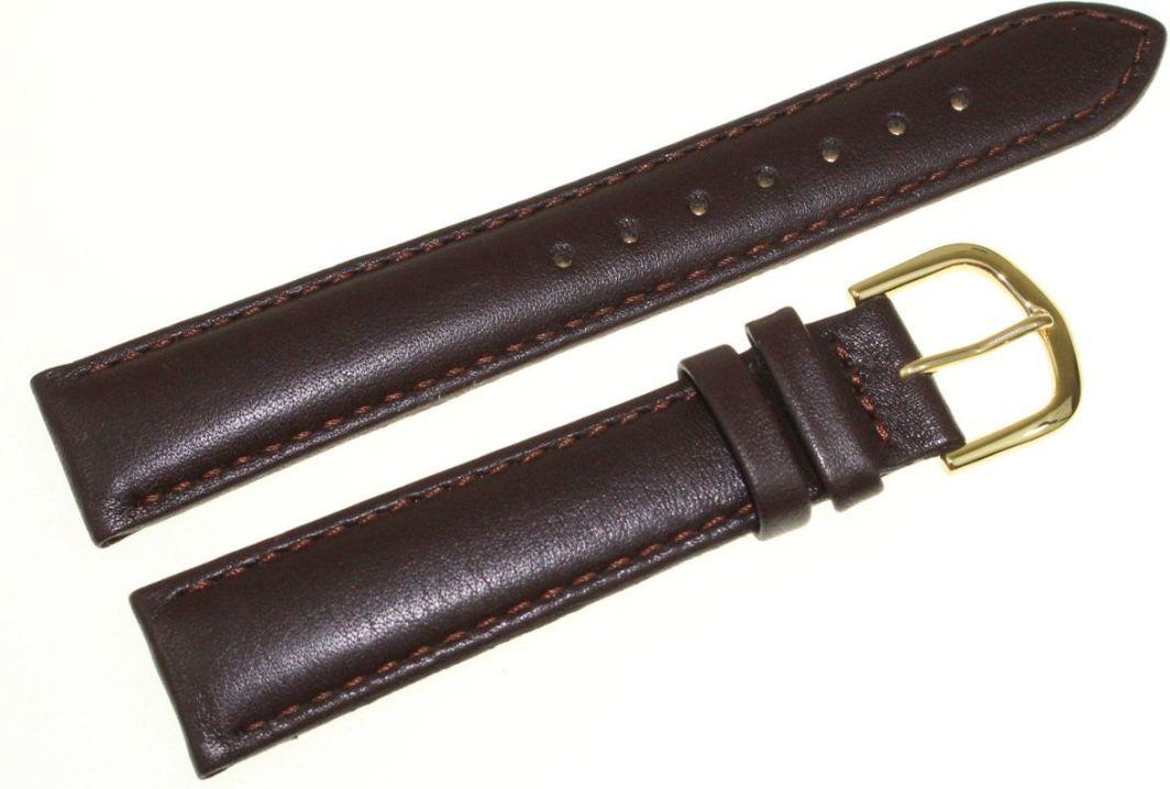 Bisset Skórzany pasek do zegarka Bisset 18 mm BS-107.18.16.05G 1