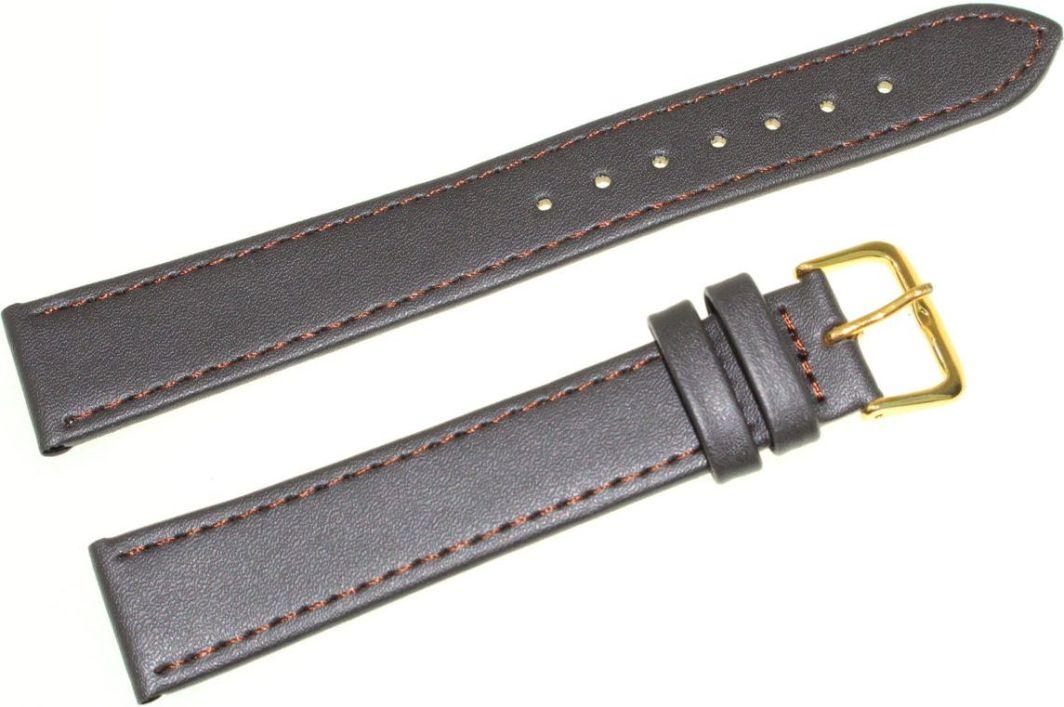 Jordan Kerr Skórzany pasek do zegarka 18 mm Jordan Kerr JK18.011.05G XL 1