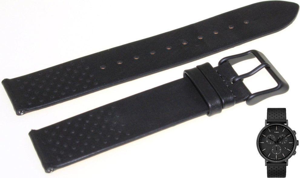 Timex Pasek do zegarka Timex TW2R26800 PW2R26800 20 mm Skóra 1