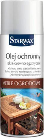 Starwax Olej ochronny w aerozolu – Meble ogrodowe (43365) 1
