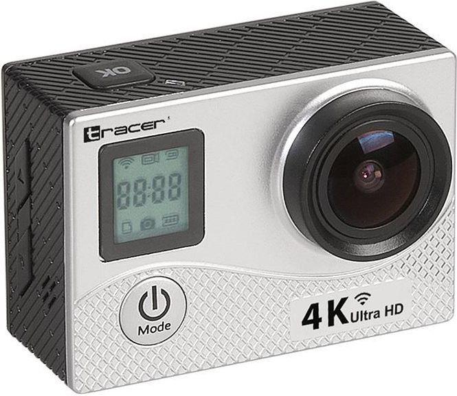 Kamera Tracer Kamera sportowa TRACER eXplore SJ 4561 wi-fi 4K silver elegance 1
