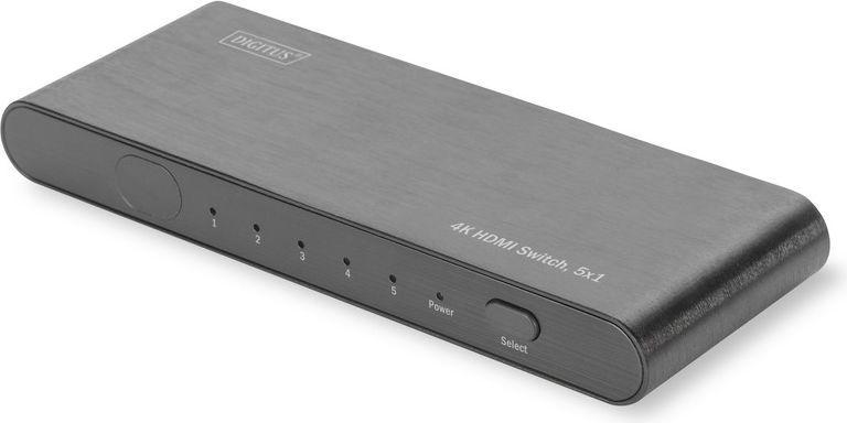 Digitus Switch HDMI 5-portowy (DS-45317) 1