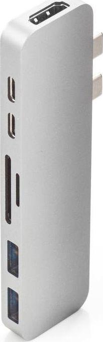 Stacja/replikator HyperDrive Replikator portów USB-C HyperDrive DUO srebrny-GN28B-SILVER 1