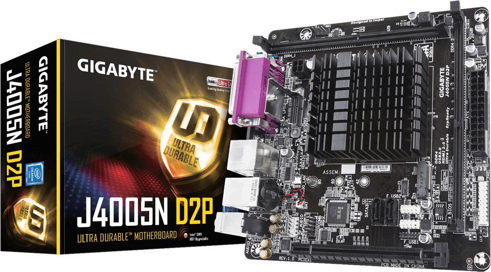 Płyta główna Gigabyte J4005N D2P 1
