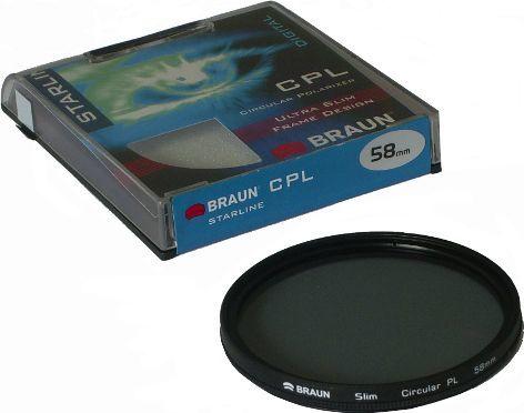 Filtr Braun Phototechnik Filtr CPL Braun Starline 77mm 1