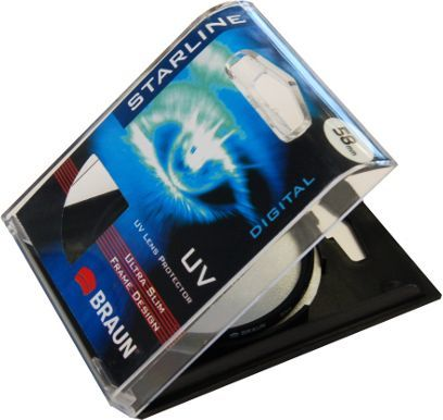Filtr Braun Phototechnik Filtr UV Braun Starline 62mm 1