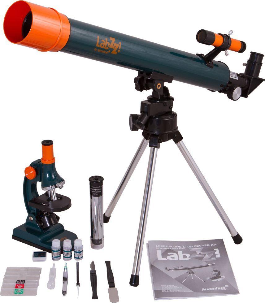 Teleskop levenhuk Zestaw Levenhuk LabZZ MT2 z mikroskopem i teleskopem 1