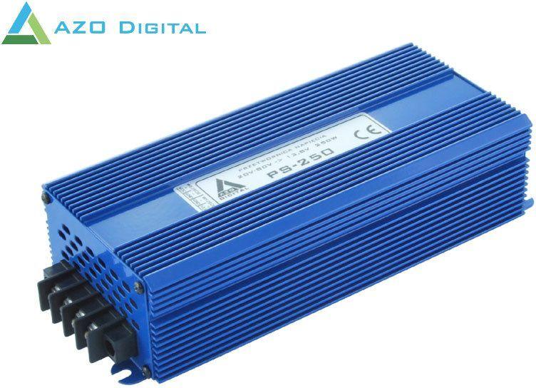 Przetwornica AZO Digital Przetwornica napięcia 30÷80 VDC / 13.8 VDC PS-250-12V 250W IZOLACJA GALWANICZNA 1