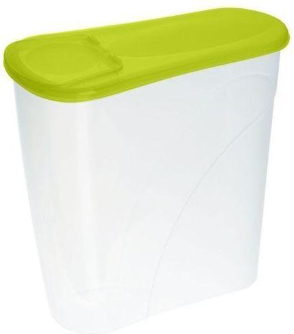 Plast Team Pojemnik Na Płatki Śniadaniowe 3,5l Zielony Plast Team (3560) 1