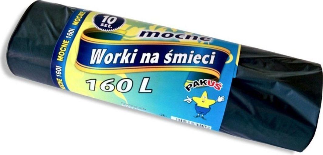Pakuś Worki Mocne 160l G A10 Czarne 5413 1