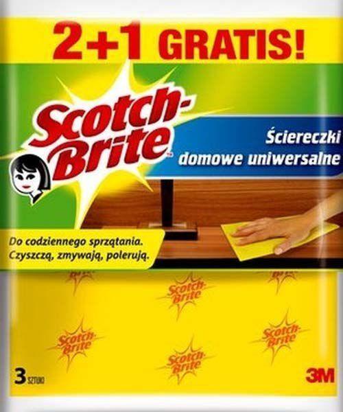 3M 3M Scotch Brite Ścierka Domowa Uniwersalna 2+1 3M 1