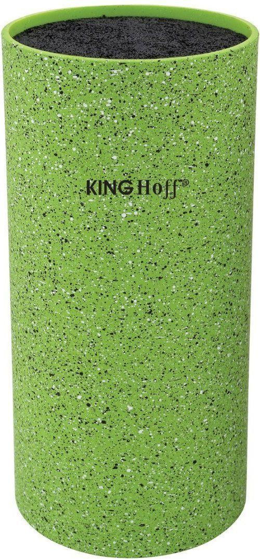 KingHoff Stojak na noże z powłoką marmurową zielony (KH-1094) 1