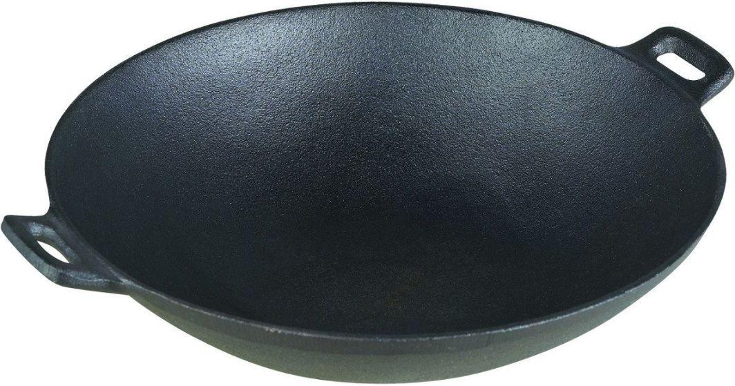 Patelnia KingHoff wok Żeliwna 31cm  1