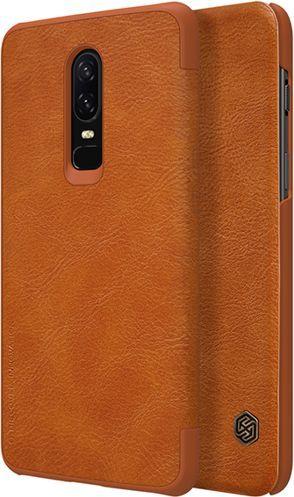 Nillkin Etui QIN OnePlus 6 A6000 Brązowy 1