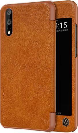 Nillkin Etui QIN Huawei P20 Pro Brązowy 1