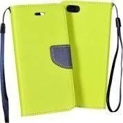 GSM City Etui Fancy Book do Sony Xperia XA1 limonkowe 1