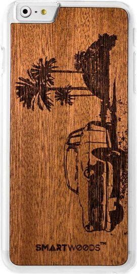 SmartWoods Case Etui Drewniane Cuba Clear Iphone 6 6S 1