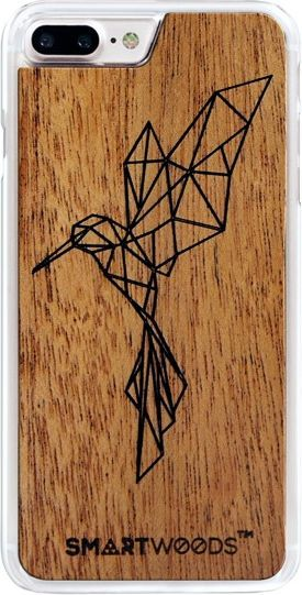 SmartWoods Case Etui Drewniane Koliberek Clear Iphone 7 8 1