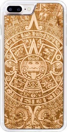 SmartWoods Case Etui Drewniane Aztec Clear Iphone 7 8 Plus 1