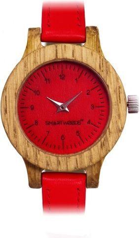 Zegarek SmartWoods Damski Drewniany Simple 8834 Dąb Red 1