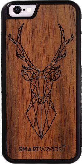 SmartWoods Case Etui Drewniane Deer Huawei P10 Lite 1