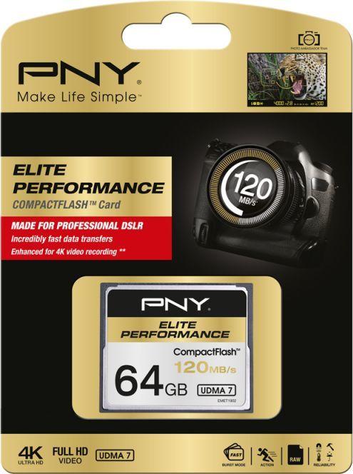 Karta PNY Technologies  (CF64GELIPER120-EF) 1