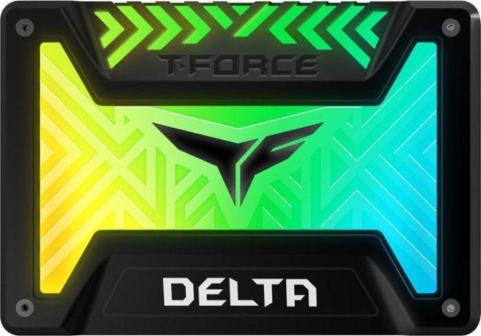 """Dysk SSD Team Group T-Force Delta RGB 1 TB 2.5"""" SATA III (T253TR001T3C313) 1"""