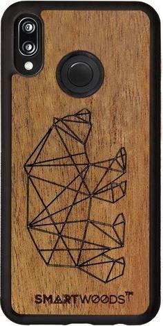 SmartWoods Case Etui Bear Huawei P20 Lite 1