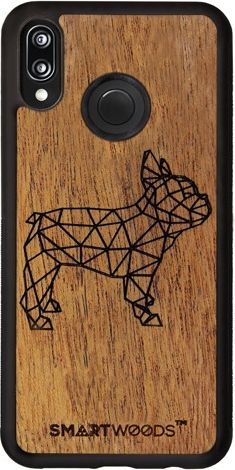 SmartWoods Case Etui Frenchie Huawei P20 Lite 1