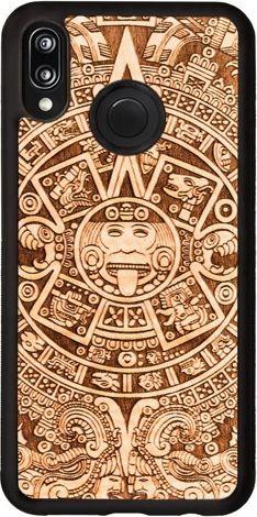 SmartWoods Case Etui Aztec Calendar Huawei P20 Lite 1