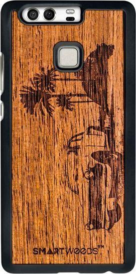 SmartWoods Case Etui Drewniane Cuba Huawei P9 1