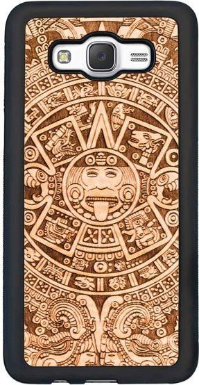 SmartWoods Case Etui Drewniane Aztec Samsung Galaxy J5 2016 1