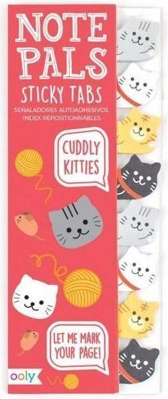 Kolorowe Baloniki Karteczki Samoprzylepne Koty 1