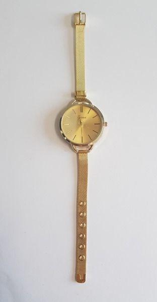 Zegarek GSM City Damski 22633 Steel złoty 1