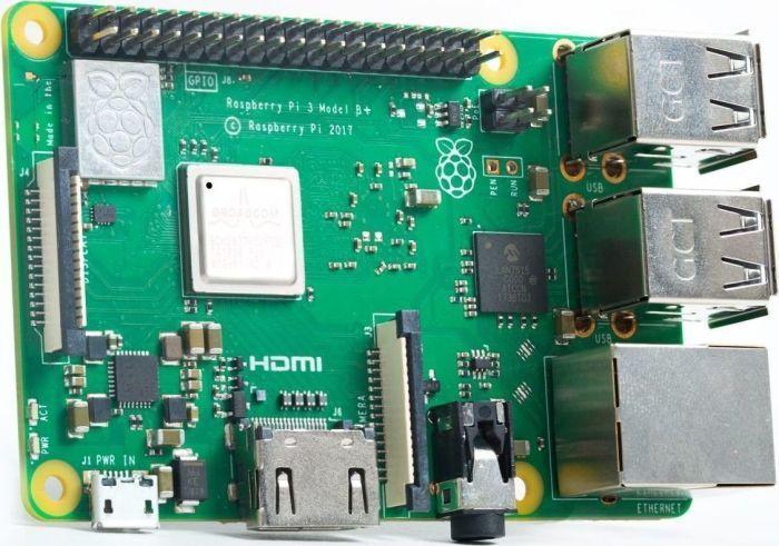 Raspberry Pi Komputer Raspberry Pi 3 model B+ Mainboard 1GB 1