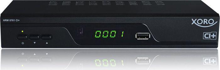 Tuner TV Xoro HRT 8761 CI plus - black - DVB-C / T2 HD 1