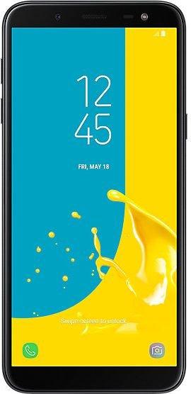 Smartfon Samsung Galaxy J6 32 GB Dual SIM Czarny  (SM-J600FZKUXEO) 1