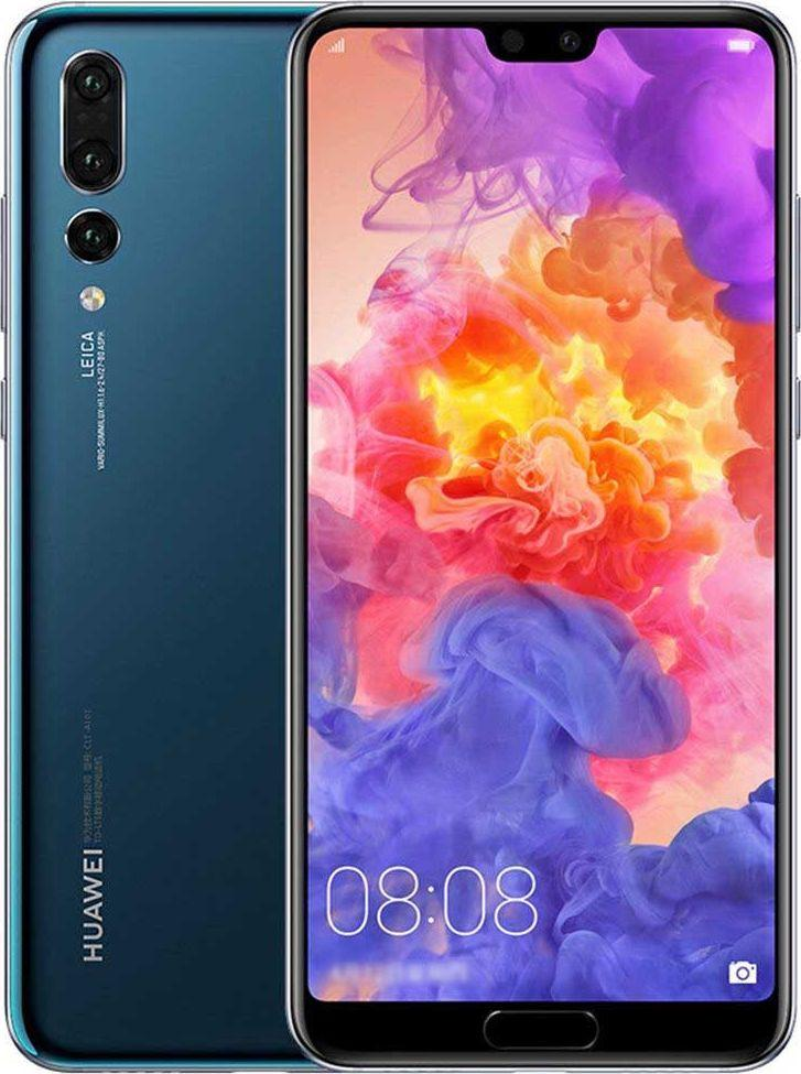 Smartfon Huawei 64 GB Dual SIM Niebieski  (Huawei P20 64GB Blue) 1