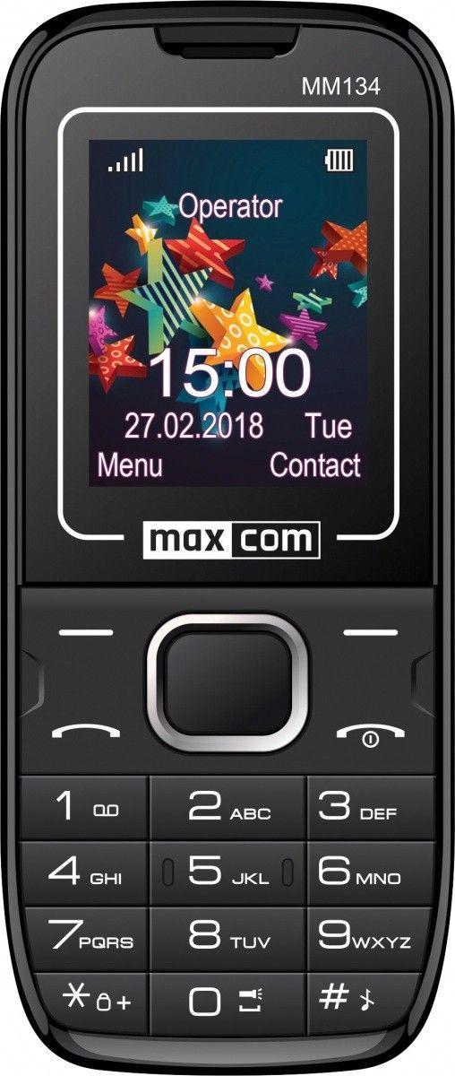 Telefon komórkowy Maxcom MM 134 (MAXCOMMM134) 1