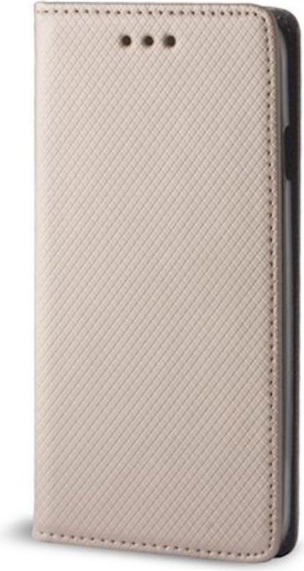 TelForceOne Pokrowiec Smart Magnet do Motorola Moto E5 złoty 1