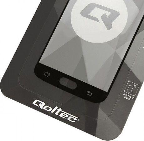 Qoltec Hartowane szkło ochronne do Huawei P10 5D Pełne Czarne (51122) 1