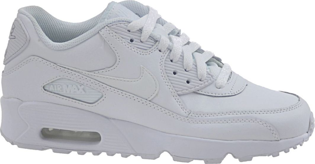 Nike Buty uniseks Nike Air Max 90 Ltr GS białe r. 36.5 (833412 100) ID produktu: 4914783