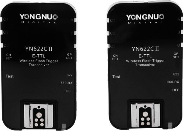 Yongnuo Yongnuo 2 x Wyzwalacz radiowy YN-622II C Canon TTL 1