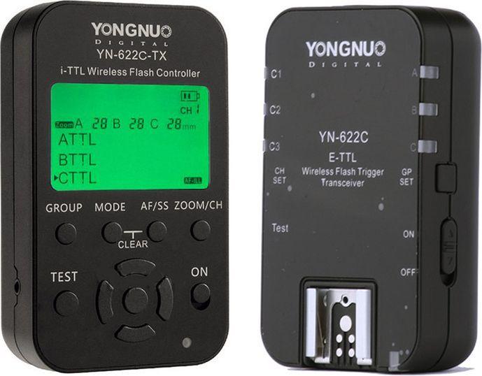 Yongnuo Zestaw Youngnuo YN-622C-KIT Sterownik Canon TTL 1