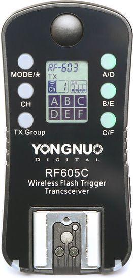 Yongnuo Yongnuo 2x Wyzwalacz RF-605N Nikon 1