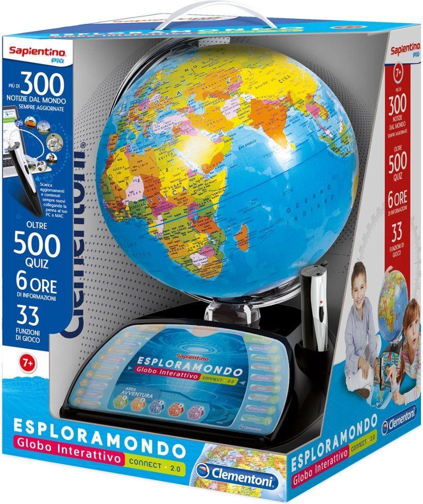Clementoni Interaktywny EduGlobus Poznaj Świat wersja premium 1
